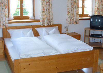 Schlafbereich Komfortzimmer Wildrose