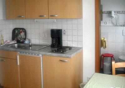 Küche Komfrotzimmer Wildrose