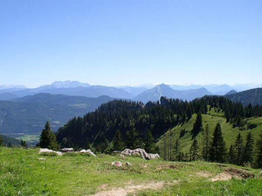 Genießen Sie die Bergwelt der Chiemgauer Alpen
