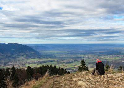 Heuberg in Oberbayern